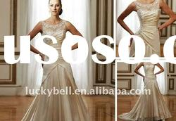 Hot sale New Spaghetti Strap Wedding dress