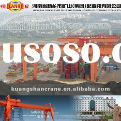 MG Type Heavy Duty Double Girder Gantry Crane Price Container Crane