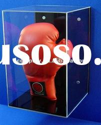 Modern Acrylic Wall Display Case for a Signed Boxing Glove