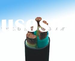 Multi-core copper conductor PVC insulated power cable