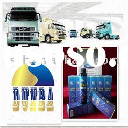 Nano lubricant oil additives for large vehicles