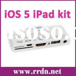 Newest model 7 in 1 camera connection kit IRC-08 support HDMI 1080P&IOS5
