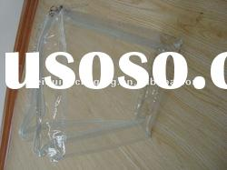 Reasonable price Customized Transparent Zip-lock Clear PVC Bag