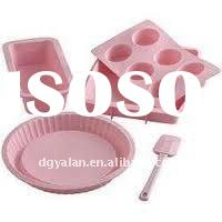 Silicone kitchware-heart shape cake mould
