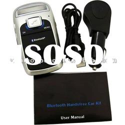 Solar Bluetooth Handsfree Car Kit with Caller ID and MP3