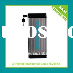 Wholesale Price High Quality 36V 10Ah E Bike Battery with Aluminum Case + Charger