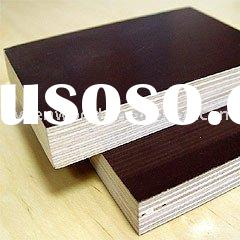 black and brown film faced shuttering plywood
