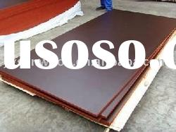 brown film faced shuttering plywood board