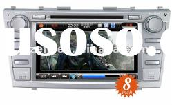 car dvd gps navigation Special for TOYOTA Camry 8 inch