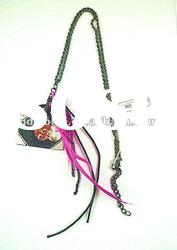 fashion necklace with funny pendant