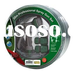 """good quality, durable,cheaper,1/2"""" PVC Garden hose with fittings"""