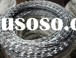 low price hot dipped galvanized concertina razor barbed wire