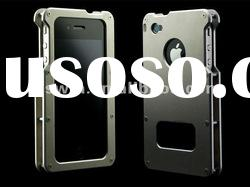 2012 Luxury blade metal aluminum bumper case for iphone 4 4S many colors