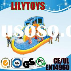 2012 hot-selling PVC inflatable water slide for kids/inflatable water toys/inflatable games