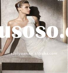 2012 lace embroidery Strapless sweetheart Exquisite Bridal Wedding Dress