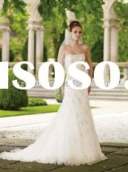 2012 new style A-line beaded lace sweetheart Exquisite Bridal Wedding Dress