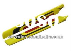3D 325mm carbon fiber blade for Align trex rc helicopter 450