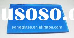 4mm 5mm 6mm Franch Blue Reflective Float Glass