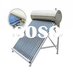 CE approved home appliance compact heat pipe stainless steel solar water heater