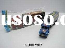 Car toy , Friction Power Car, plastic toy car, friction truck with 3 pcs of free wheel motor