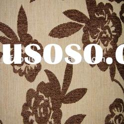 Chenille Jacquard for sofa fabric
