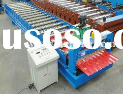Colored steel Roof panel roll forming machine XF21-136-1088