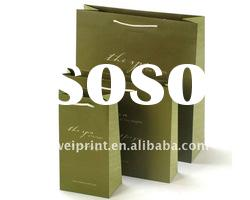 Custom promotional paper bag With Good Printing Service