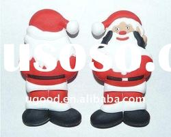 Factory direct oem pvc santa clause usb