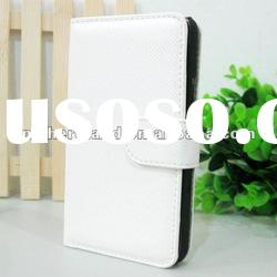For Samsung Galaxy S2 I9100 White Flip Leather Case