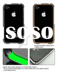 Luxury blade metal aluminum bumper for iphone 4 4S many colors