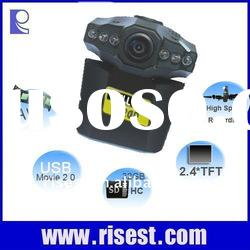 Motion Activated DVR Car Recorder with 270 Degree Rotatable Screen