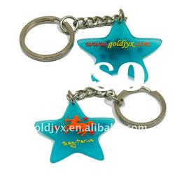 Newest Promotional Rubber Keyring