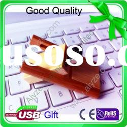 OEM natural 1gb 2gb 4gb 8gb 16gb swivel wooden usb flash drive 3.0 (aiyze factory Welcome to order)