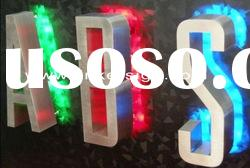 RGB led backlit channel letter sign