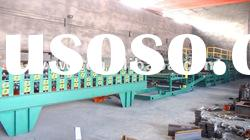 Sandwich panel automatic roof or wall board color steel cold roll forming machinery