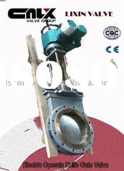 Steel Electric Operate Knife Gate Valve