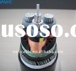 Steel wire armored cable,aluminum conductor XLPE power cable
