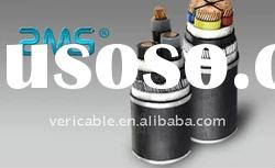 Steel wire armored cable with copper conductor XLPE insulation