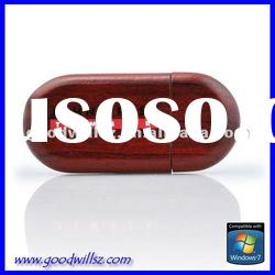 Sustainable material usb flash drive 1gb with logo