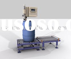 The liquid filling packing machine (the inside a top adds to anticipate the type)