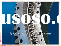 excavator luoyang large three row roller combined slewing gear ring bearing