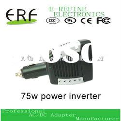 high efficiency 75w power inverter with usb