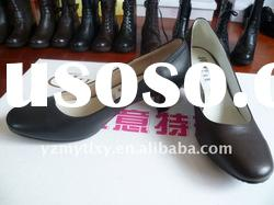 high quality Ladies leather high heel casual whole sale discount shoes 2011