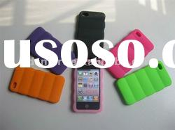 multicolor 3D DESIGN silicone gel rubber skin cover case for APPLE iPHONE 4G 4S 4GS