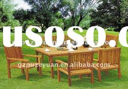 outdoor cafe bench garden table set (8217)