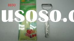 practical stainless steel wooden handle fruit& paring knife