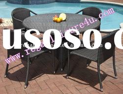 sell RLF-DH-016 patio garden synthetic rattan outdoor wicker dining set furniture