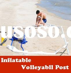 volleyball set (inflatable & portable volleyball net post)