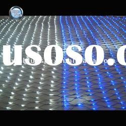 warm white and blue led net light with 1 year warranty