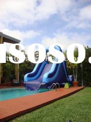 2011 hot and newest blue wave inflatable water slide